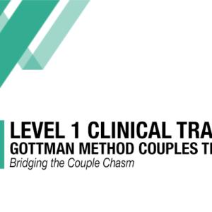Clinicians For Level 1 Clinical Training Gottman Method Panganiban Therapy LLC San Diego CA
