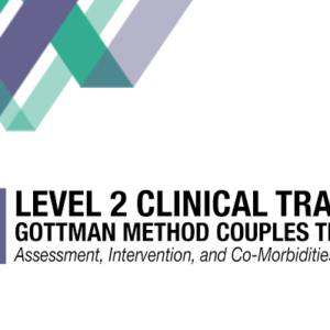 Clinicians For Level 2 Clinical Training Gottman Method At Panganiban Therapy LLC San Diego CA