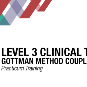Clinicians For Level 3 Clinical Training For Couples Panganiban Therapy LLC San Diego CA